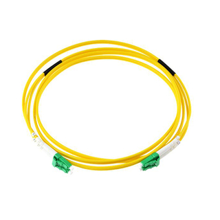 LC APC Singlemode Duplex Fiber Optic Patch Cord